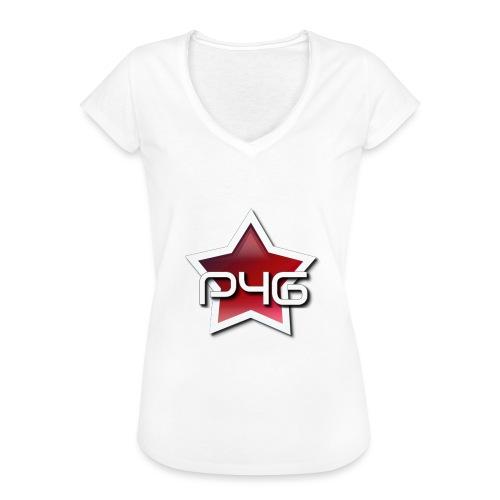 logo P4G 2 5 - T-shirt vintage Femme