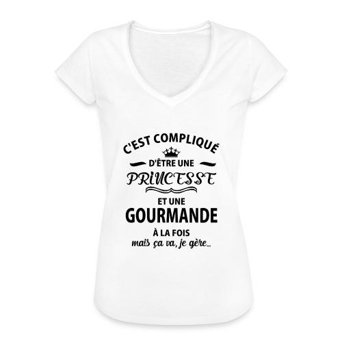 cxvxg - T-shirt vintage Femme
