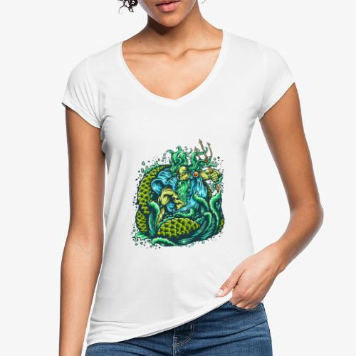 Dieu de la mer - T-shirt vintage Femme
