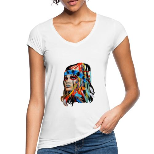 Pióra i pióropusze - Koszulka damska vintage