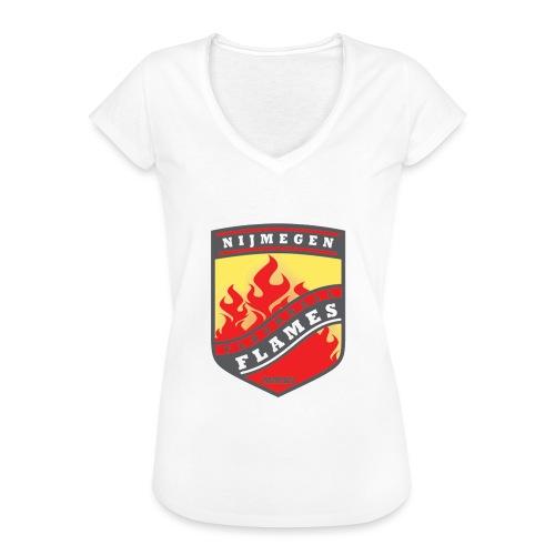 t shirt black - Vrouwen Vintage T-shirt