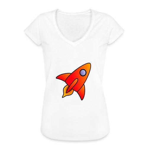 Red Rocket - Women's Vintage T-Shirt