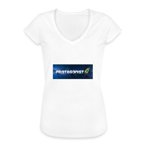 Protagonist by Schreiben-im-Flow.de - Frauen Vintage T-Shirt