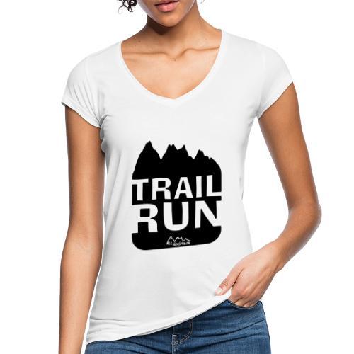 Trail Run - Frauen Vintage T-Shirt