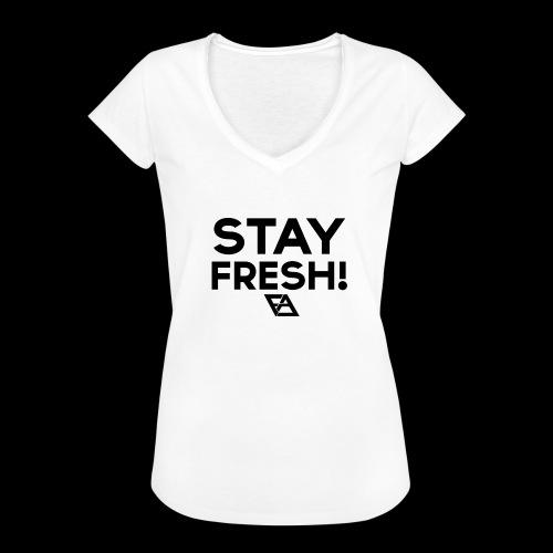 STAY FRESH! T-paita - Naisten vintage t-paita