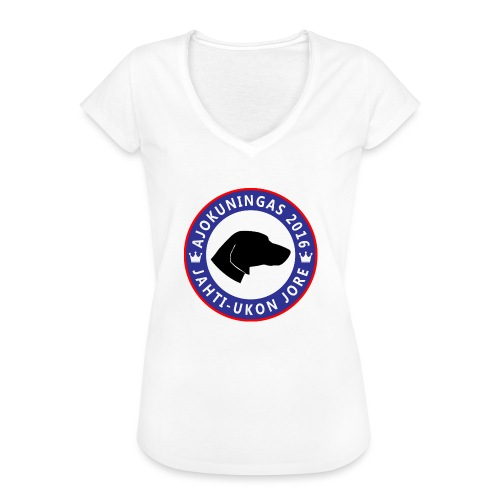 Ajokuningas t-paita - Naisten vintage t-paita
