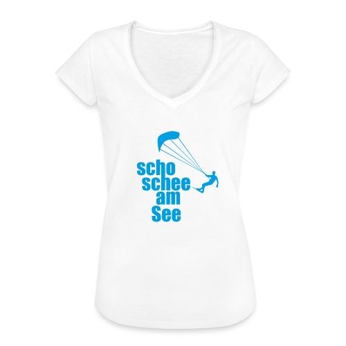 scho schee am See Surfer 01 kite surfer - Frauen Vintage T-Shirt
