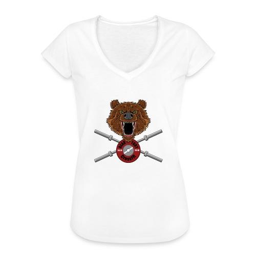 Bear Fury Crossfit - T-shirt vintage Femme