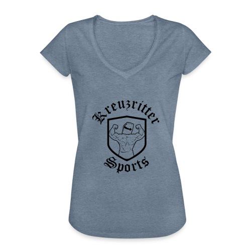 Kreuzritter Sports - Frauen Vintage T-Shirt