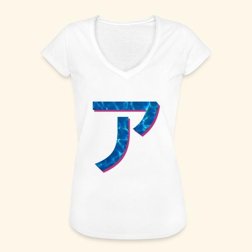 ア logo - T-shirt vintage Femme