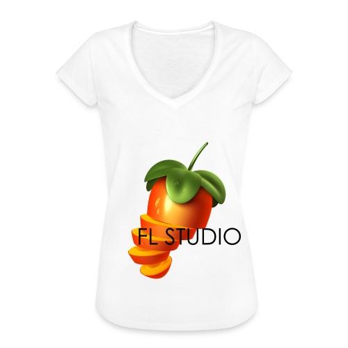 Sliced Sweaty Fruit - Women's Vintage T-Shirt