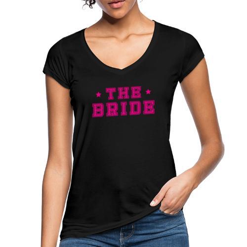 Braut Pink Junggesellenabschied JGA - Frauen Vintage T-Shirt