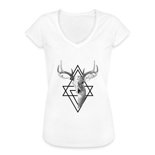 My Deer - Naisten vintage t-paita