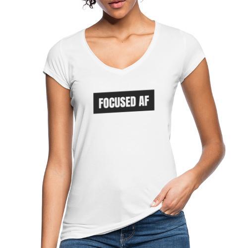 FOCUSED AF - Vrouwen Vintage T-shirt