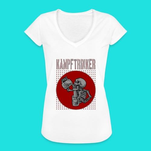 Kampftrinker - Frauen Vintage T-Shirt