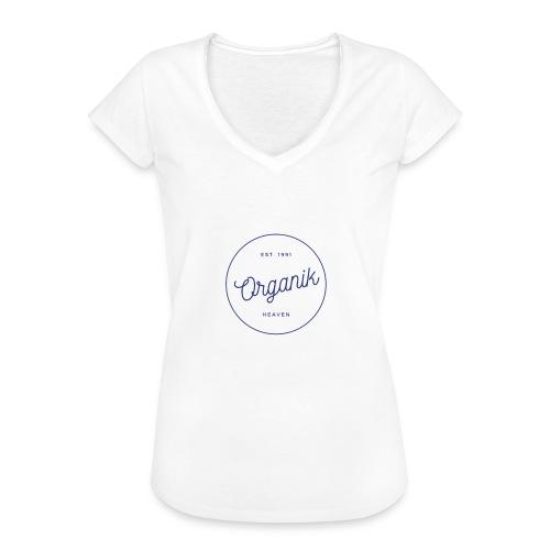 Organic - Maglietta vintage donna