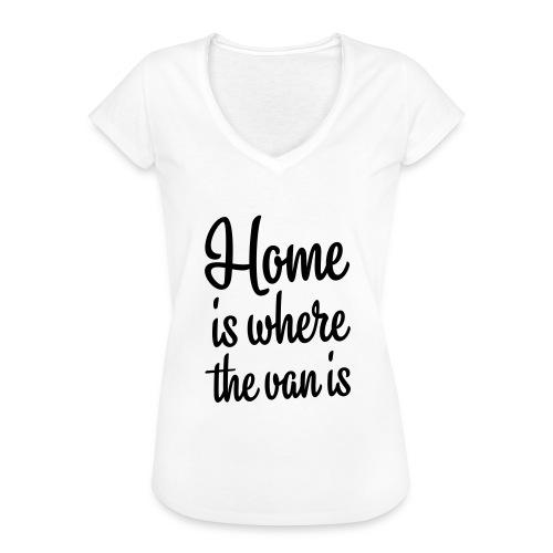 camperhome01b - Vintage-T-skjorte for kvinner