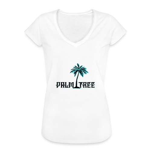 PALMTREE PALMERA STREETWEAR - Camiseta vintage mujer