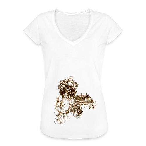 Bacchus 010 - Frauen Vintage T-Shirt