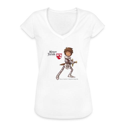 Ritter Trenk Bio-T-Shirt für Kinder - Frauen Vintage T-Shirt