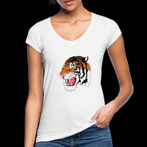 Sumatra Tiger - Frauen Vintage T-Shirt