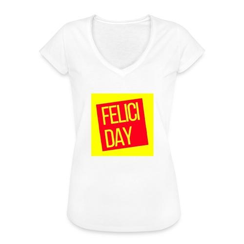 Feliciday - Camiseta vintage mujer