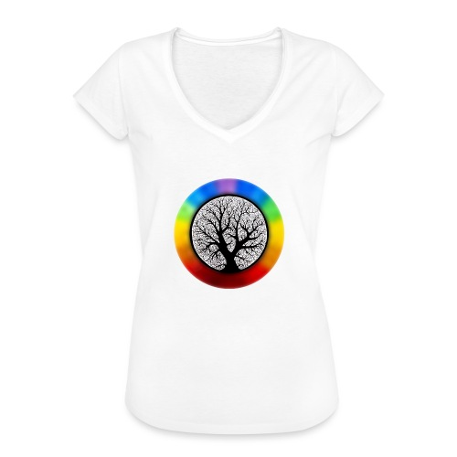 tree of life png - Vrouwen Vintage T-shirt