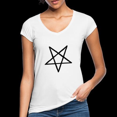 Pentagram2 png - Frauen Vintage T-Shirt