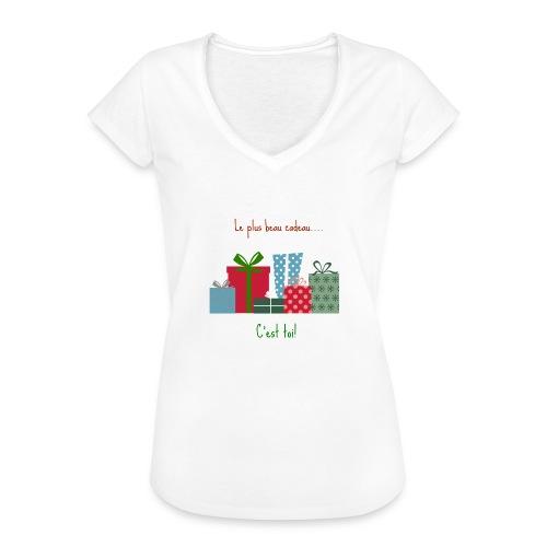 Le plus beau cadeau - T-shirt vintage Femme