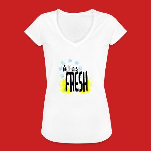 Alles Fresh / Frisch Sommer Eis - Frauen Vintage T-Shirt