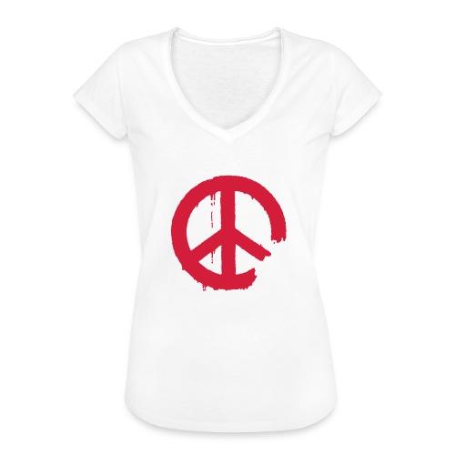 PEACE - Frauen Vintage T-Shirt