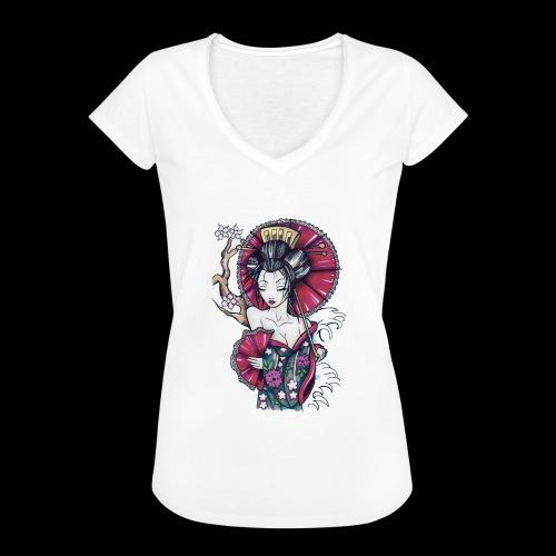 Geisha2 - Maglietta vintage donna