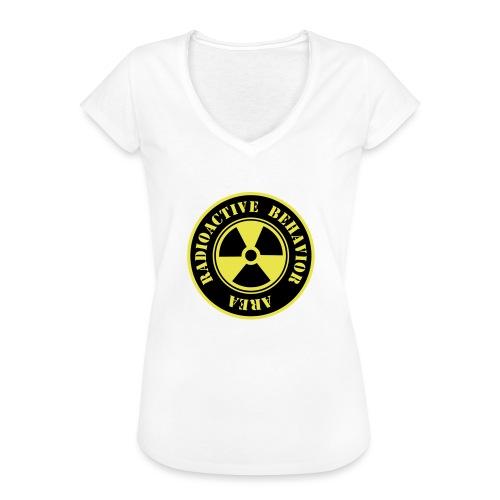 Radioactive Behavior - Camiseta vintage mujer