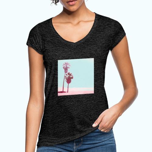 Pastel Beach Minimalism Modern - Women's Vintage T-Shirt