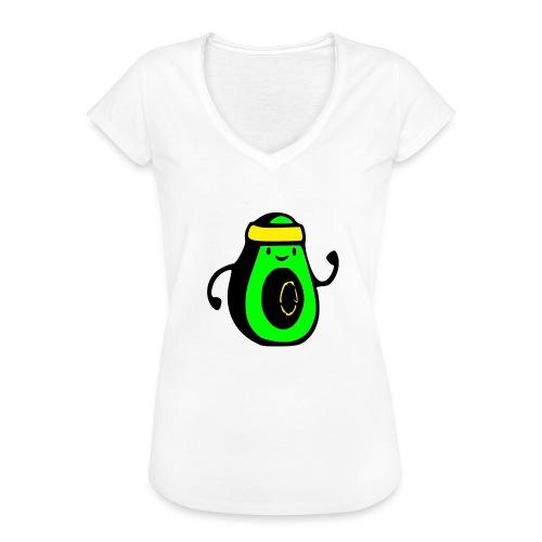 aguacate ninja - Camiseta vintage mujer