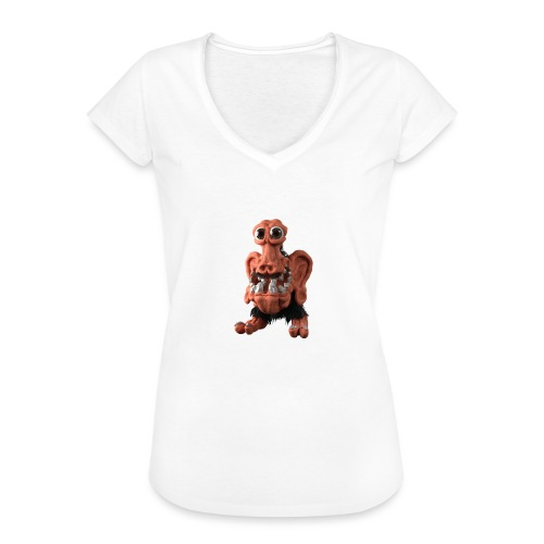 Very positive monster - Women's Vintage T-Shirt