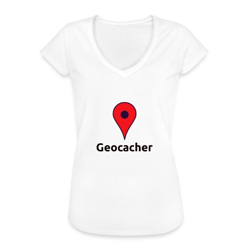Geocacher - Frauen Vintage T-Shirt