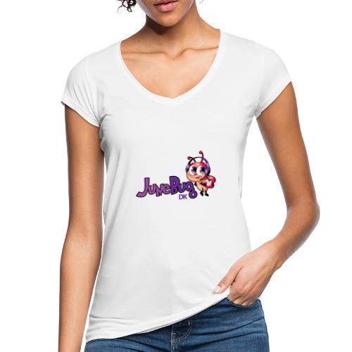 JuneBugDK - Dame vintage T-shirt