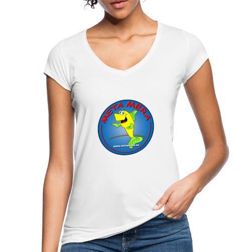 metamera_fish - Vintage-T-shirt dam