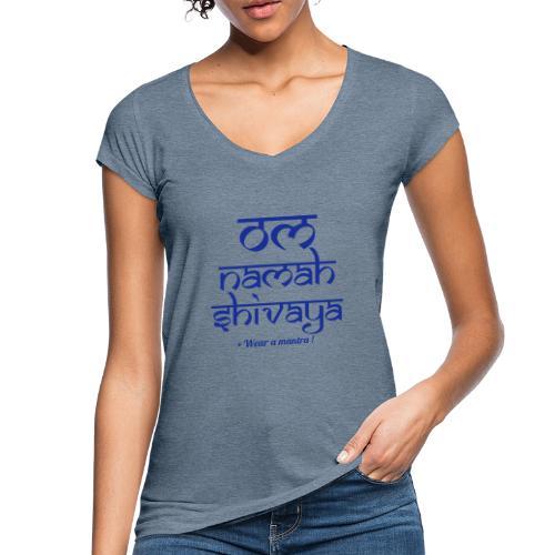 OM NAMAH SHIVAYA - Maglietta vintage donna