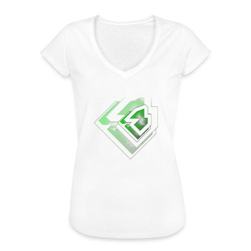 BRANDSHIRT LOGO GANGGREEN - Vrouwen Vintage T-shirt