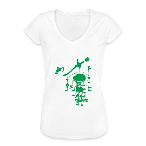 tonearm05 - Vrouwen Vintage T-shirt