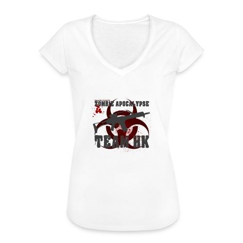 Zombie Apocalypse Team H&K - Frauen Vintage T-Shirt