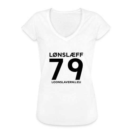 100014365_129748846_loons - Vrouwen Vintage T-shirt