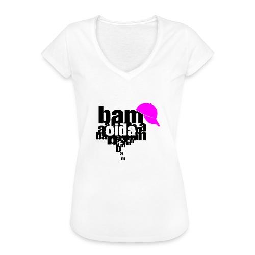 bam oida bam - Frauen Vintage T-Shirt