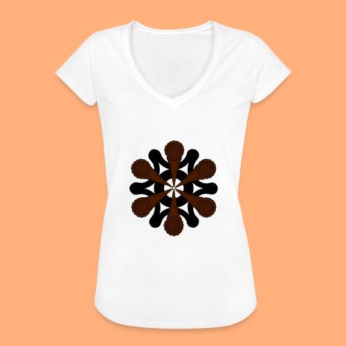 vortex - T-shirt vintage Femme