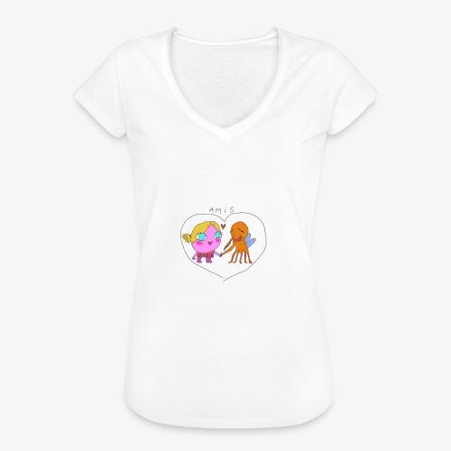 les meilleurs amis - T-shirt vintage Femme