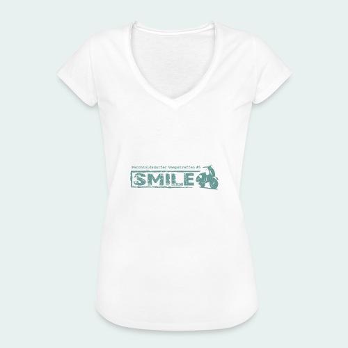SMILE-Shirt 2018 - Frauen Vintage T-Shirt