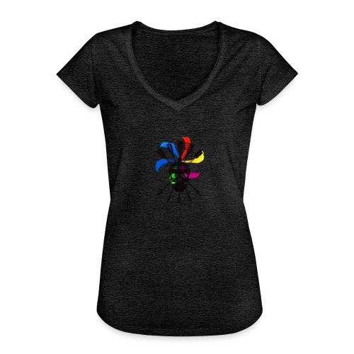 Blaky corporation - Camiseta vintage mujer