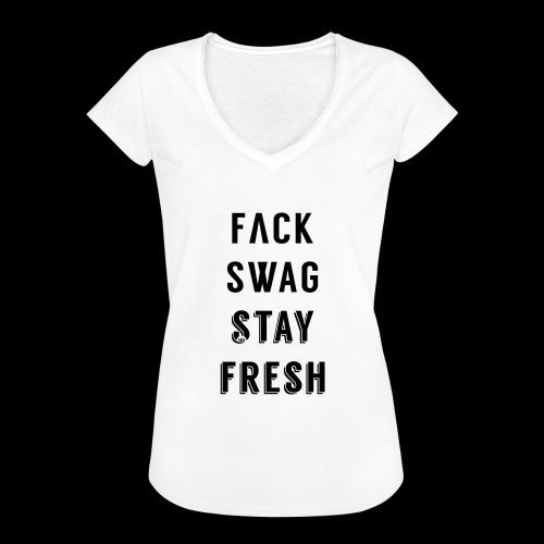 Fack Swag Tee - Camiseta vintage mujer